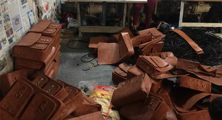 Leather Bag manufacturing